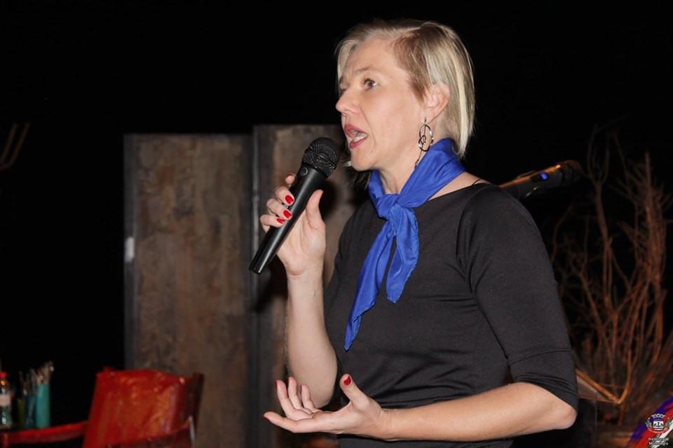 Secretária Municipal de Indústria, Comércio e Turismo, Cristiane Gehrke.