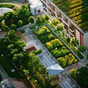 Die Stadt der Zukunft ist grün und energieeffizient