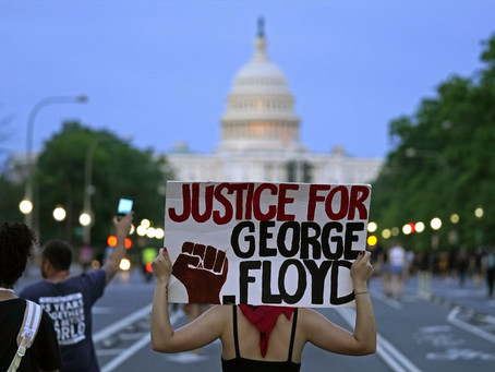 Say His Name: A poem written after the murder of George Floyd