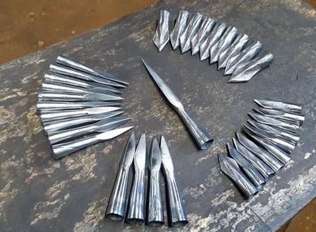 Set of arrowheads