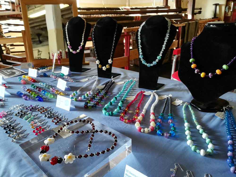 My craft stall at Coldharbour Mill, October 2018