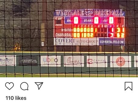 Chaps Baseball 3-1 Over Lehman