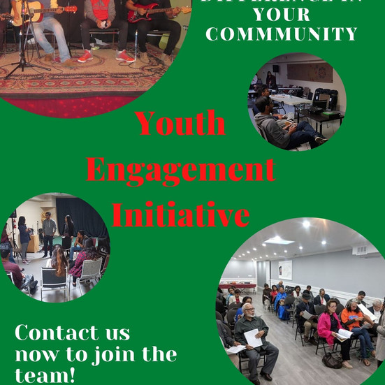 Contact us now to join our youth group!