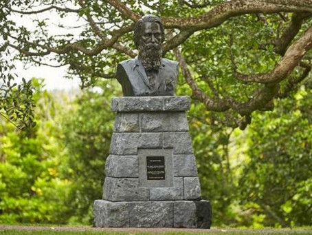 Statue unveiling for 'Auckland's founding father'