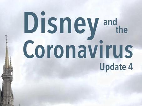 Disney and the Coronavirus - Update 4