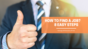 How to find a job? 8 easy steps