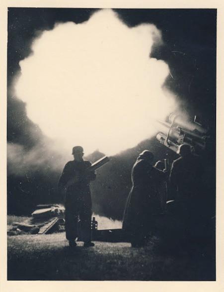 Original WWII photo of flak gun c. 1940 | Stuart Archive