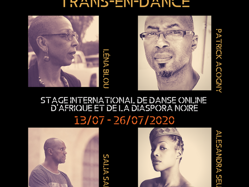 Online Summer Workshop with incredible dance artists from Africa and the Caribbean!