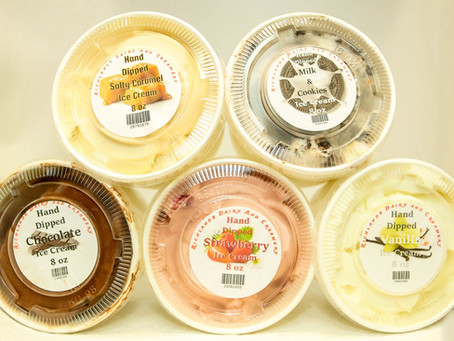 We now carry Richlands Ice Cream