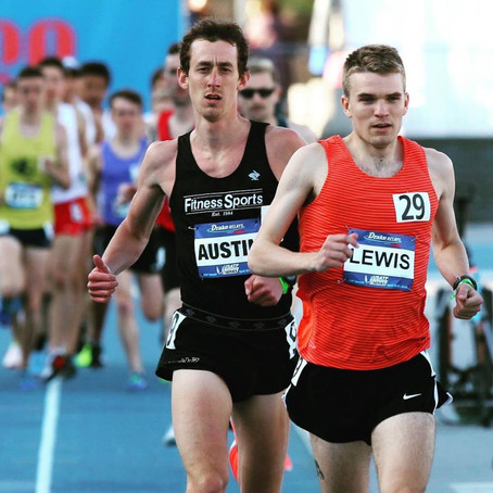 Kevin to Compete at Payton Jordan 5/2;Katy & Tyler, Meghan at USA 1/2 Marathon Champs in PA 5/5