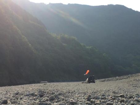 【空の旅 仁淀川】撮影は順調です!