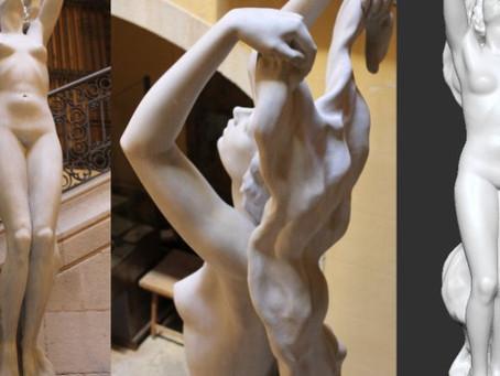 ScanPhase digitaliza y reproduce en 3D esculturas del Museu Europeu d'Art Modern (MEAM)