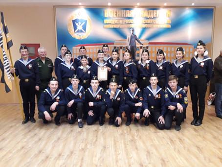 Георгиевский отряд на IХ региональном слёте кадетов