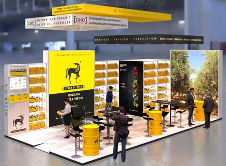 Застройка выставочного стенда компании CHO Group на выставке ПРОДЭКСПО 2020
