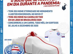 Bahia lança campanha para evitar queda de sócios durante a pandemia