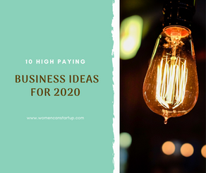 10 High Paying Business Ideas For 2020
