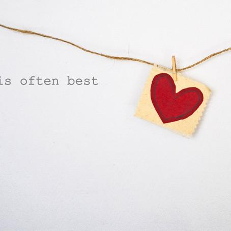 Keep Valentine's Simple.