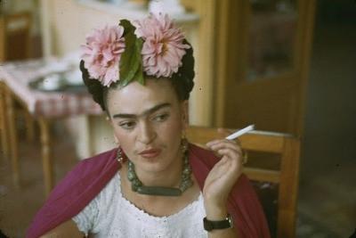 Frida Kahlo et le Dahlia