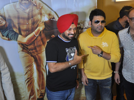 FAMOUS STAND UP COMEDIAN KAPIL SHARMA'S FIRST PUNJABI FILM AS PRODUCER IN SON OF MANJEET SINGH