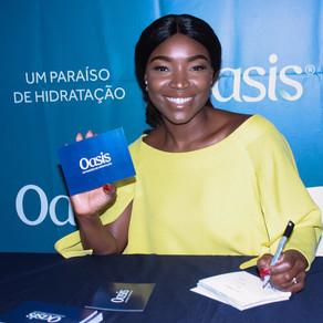 Pérola estreia nova campanha publicitária da marca Oasis