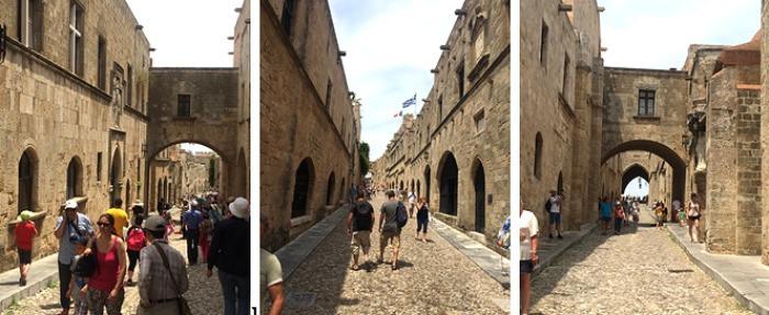 רחוב האבירים רודוס, רובע קאסטלו