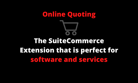 NetSuite Ecommerce Quoting Extension for SuiteCommerce