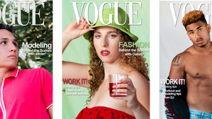 Get on the COVER! Vogue Magazine Challenge