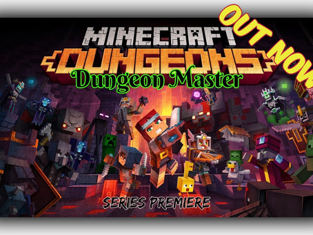 "OUT NOW!!! ""Dungeon Master"" (Episode I: Squid Coast) - A Minecraft Dungeons Adventure"