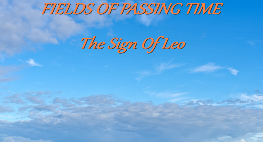 """Release """"Fields Of Passing Time""""door The Sign of Leo"""