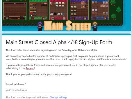 Apply To Join Our Closed Alpha!