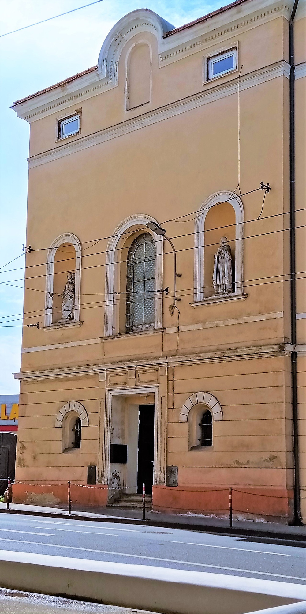 Kaple svatého Karla Boromejského v bývalém klášteře kongregace Milosrdných sester svatého Karla Boromejského