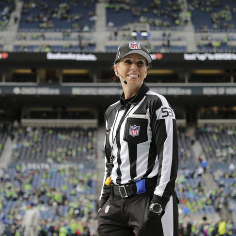 Sarah Thomas Becomes the First Woman to Officiate NFL Playoff Game