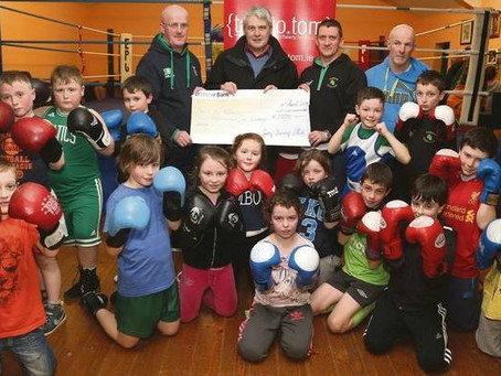 Local suicide charity benefits from boxing club 'Fight Night'