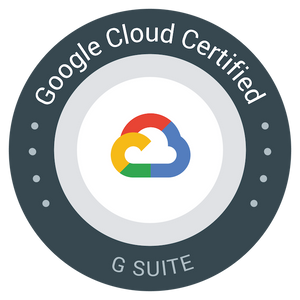 Google Cloud Certified G Suite Badge