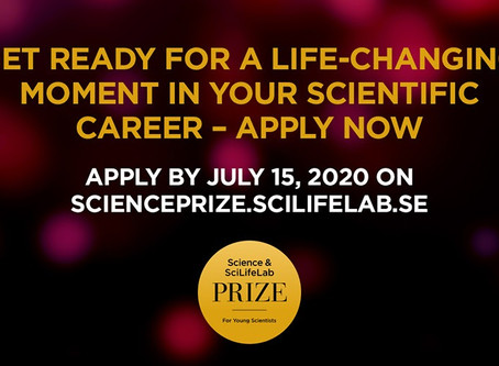Premio Science & SciLifeLab para Jóvenes Científicos