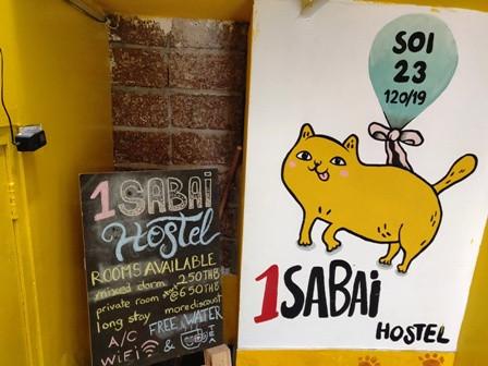 1 sabai hostel Bangkok