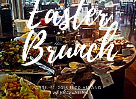 April 21, 2019 Easter Brunch
