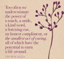 Friday Morning Inspiration - Kindness!