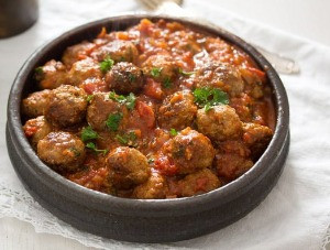 Food stories: Mexican Rice and Albondigas