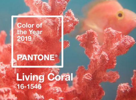 Pantone 2019 : Living Coral