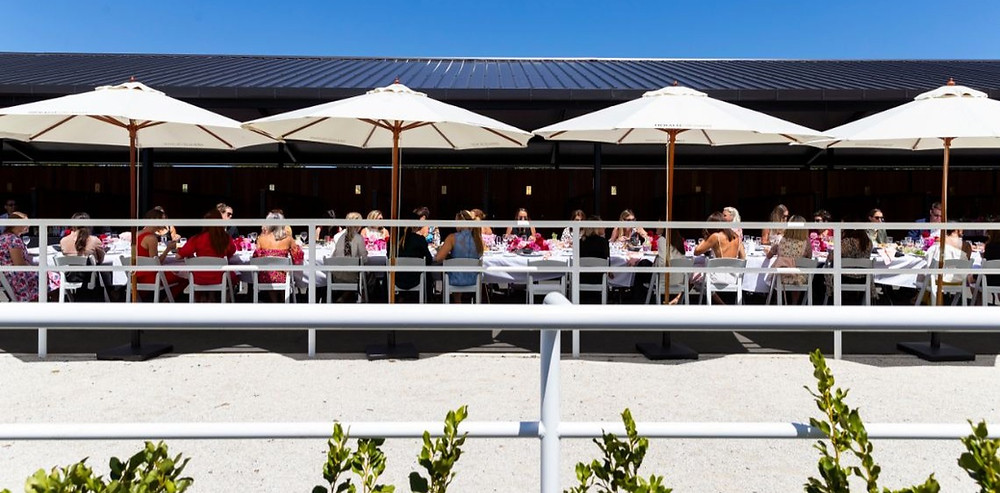 Best outdoor lunch venues in Auckland Ellerslie Event Centre stables