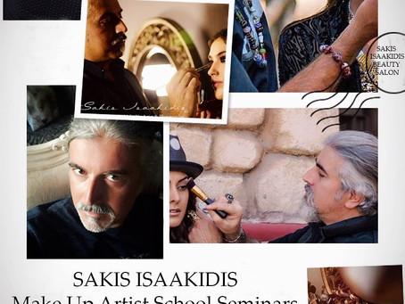 Sakis Isaakidis MakeUp Artist School Seminars Τσιμισκή 60, Θεσσαλονίκη τηλ:2313 030142 * 694 1560606