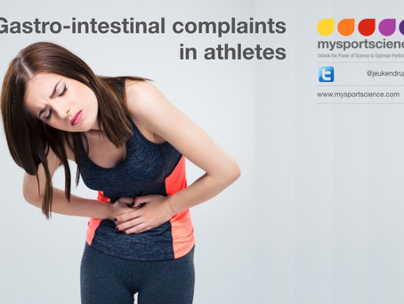 Gastrointestinal complaints in athletes