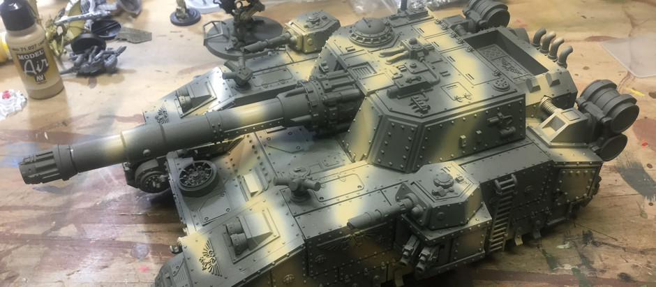 Slow progress on my Imperial Guard tanks