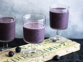 Blueberry and Cardamom Smoothie