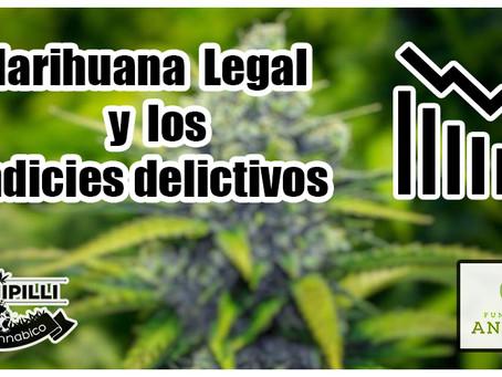 Estudio demuestra que el uso de marihuana medicinal no conlleva un alza en el indice de crímenes