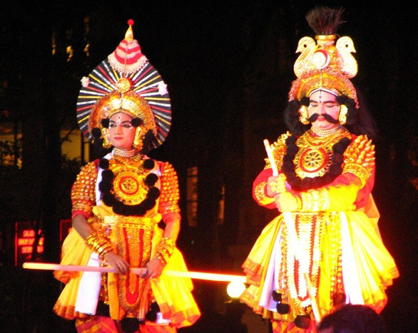 Yakshagana mix of dance and drama form