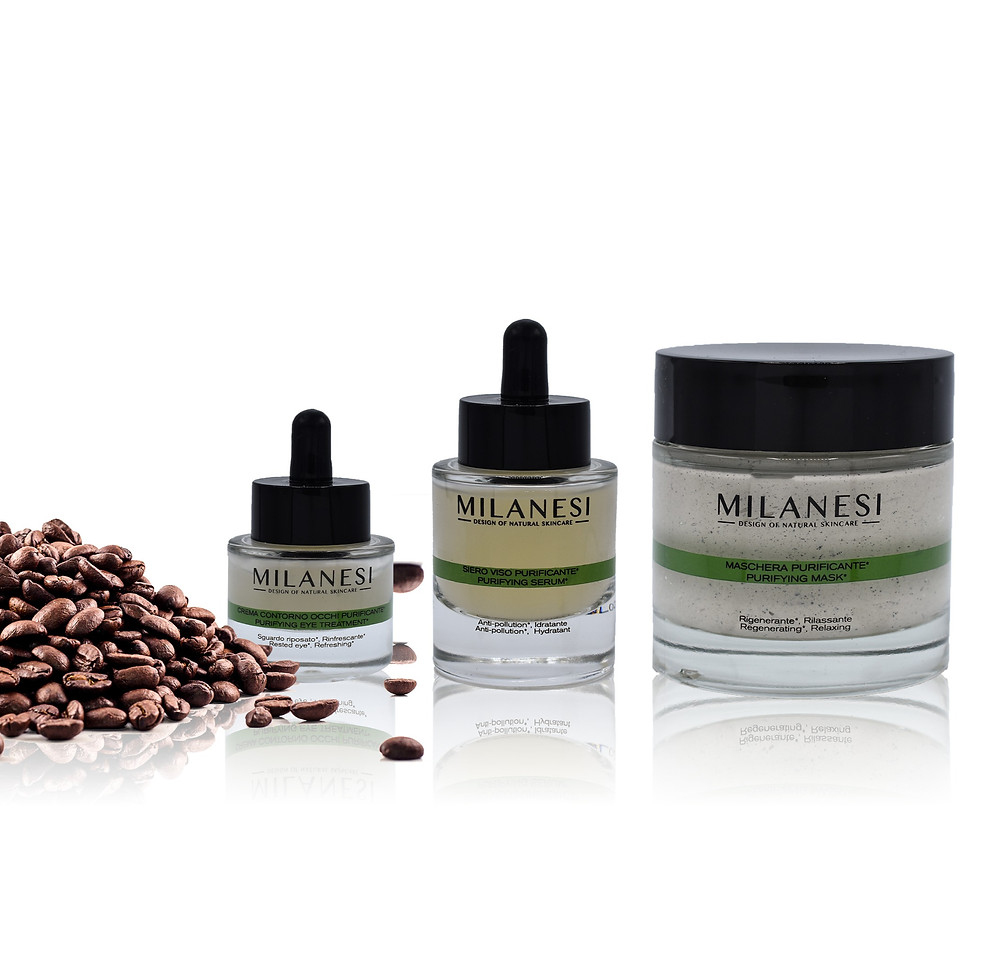 linea navigli di Milanesi skincare ricca di antiossidanti e anti-pollution