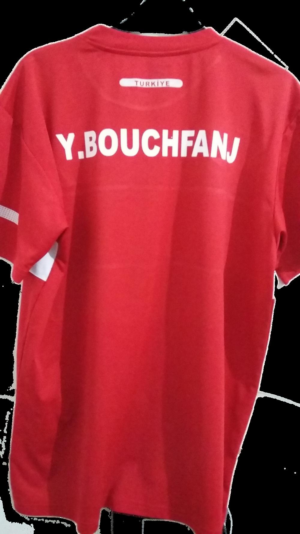 Marquage de t-shirt et maillot de sport en flex et floc