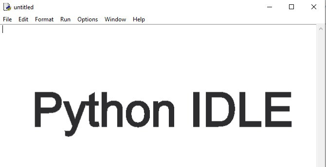 Python Idle